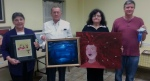 In the Apprentice category Artists of the Month of December are Carey Winberry, Al Theriot, Kathleen DesHotel, and André Rosselot