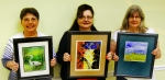 "Slidell Art League announces its artists for the month of May who were selected by vote at the April 8 meeting. In the Apprentice category, ribbons went to: first, ""Wading Patiently"" (watercolor) by Carey Winberry; second, ""Bold Collision"" (monotype) by Kathleen DesHotel; and third, ""Field"" (watercolor) by Gwen Losh."
