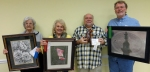 Slidell Art League Master Artists for February are: Colleen Marquis, Marie Celino, Ron Pulling, and Donald Crais