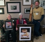 Slidell Master Artists for January 2015 are Richard Ray, Colleen Marquis, and Matt Monahan