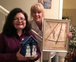 Apprentice Artists for January were chosen at the SAL Christmas Party, and they are Kathleen DesHotel and Dolores Crain