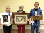 """April 2015 Winners for the Master category were: tied for First, """"Great Blue Heron"""" by Marie Celino and """"Audubon Carousel"""" by Colleen Marquis; Second, """"There Goes the Neighborhood"""" by Matt Monahan."""