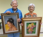 The first and second place winners in the master artist category are Richard Ray and Colleen Marquis.