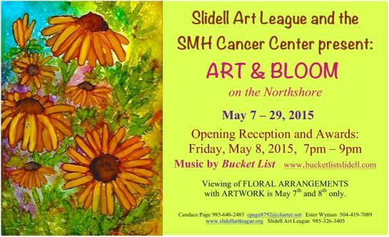 SAL Art and Bloom 2015