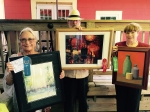"""Master Artist winners are: First, Robin Miller-Bookhout for """"Grace Down by the River;"""" Second, Viki Kennedy for """"Bleaker;"""" Third, Marie Celino for """"Sunset;"""" Faye Witkowski for """"Bottles."""""""