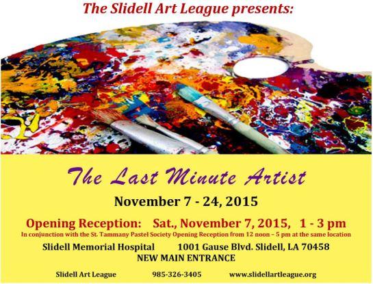 Last Minute Art Show